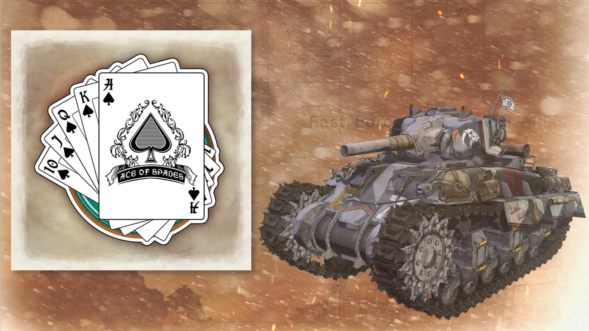 Tank Decal - Royal Flush