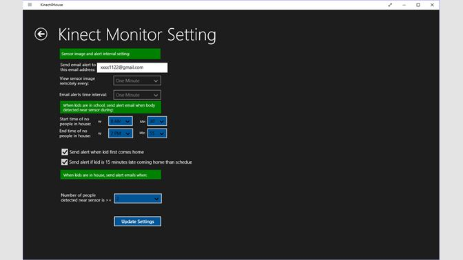 Buy Kinect House Monitor - Microsoft Store