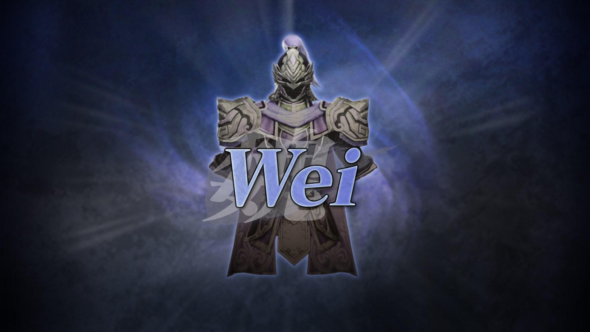 WARRIORS OROCHI 3 Ultimate DWSF COSTUME - WEI
