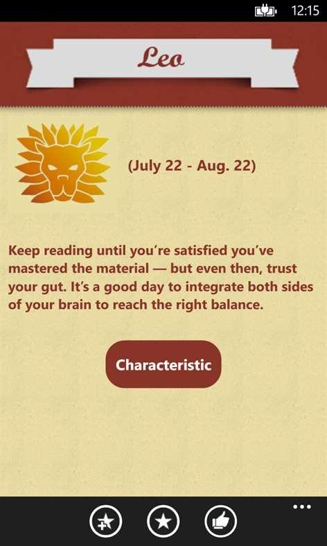 Daily Horoscopes Screenshots 2