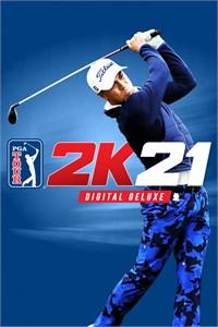 Carátula para el juego PGA TOUR 2K21 Digital Deluxe de Xbox 360