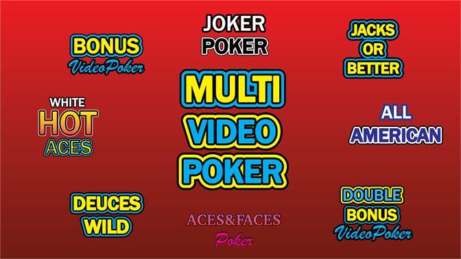 Get Multi Video Poker Free Offline Games Microsoft Store