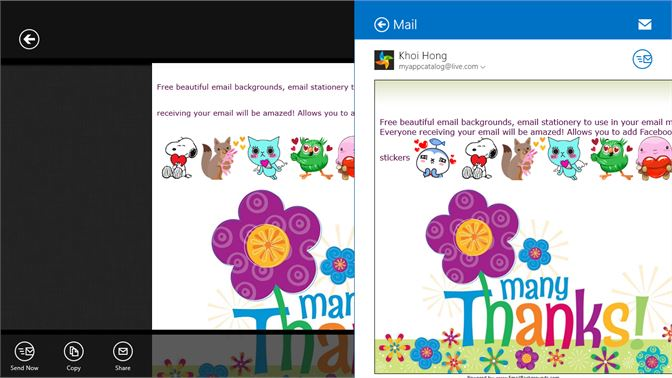 get email backgrounds microsoft store