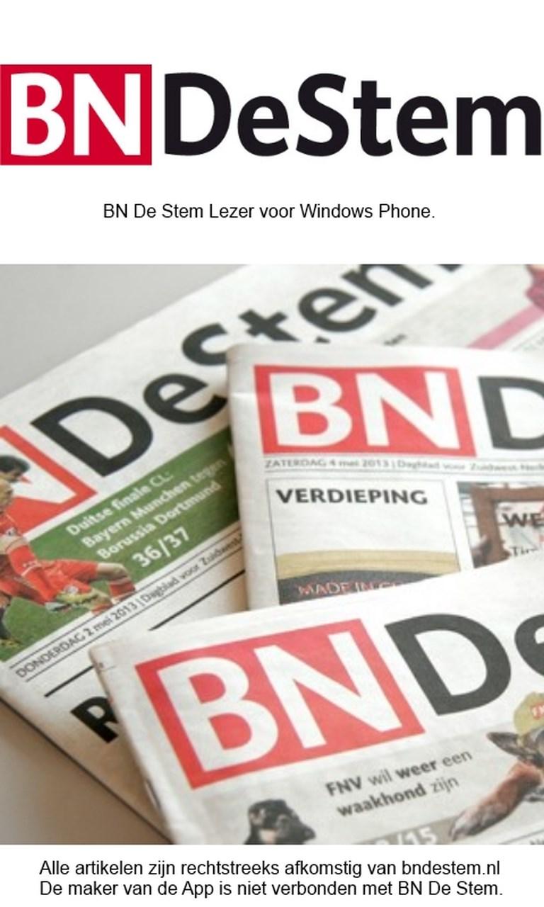BN De Stem Lezer for Windows 10 Mobile