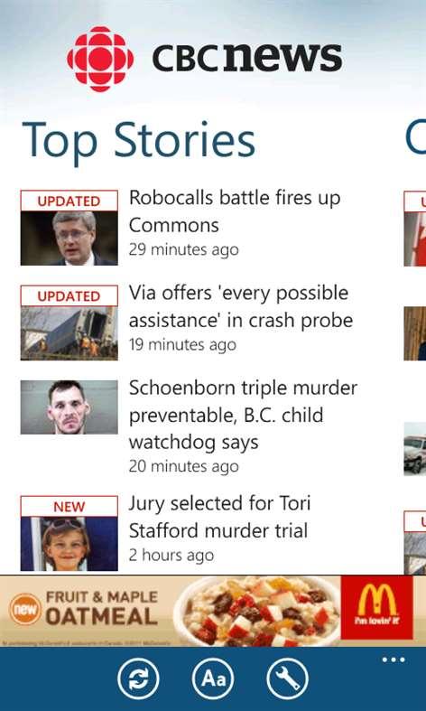 Get CBC News - Microsoft Store