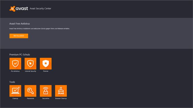 Avast Antivirus Download Center Beziehen Microsoft Store De At