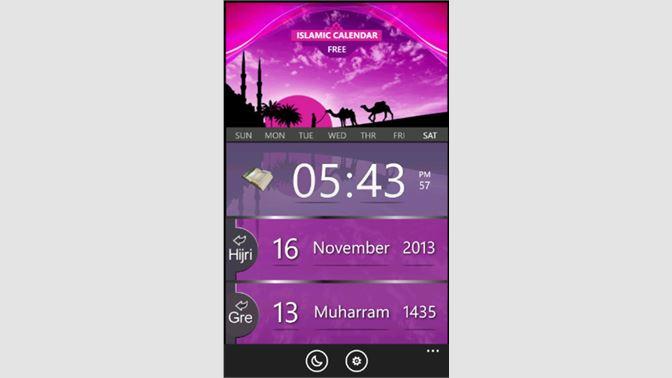 Get Islamic Calendar Free - Microsoft Store