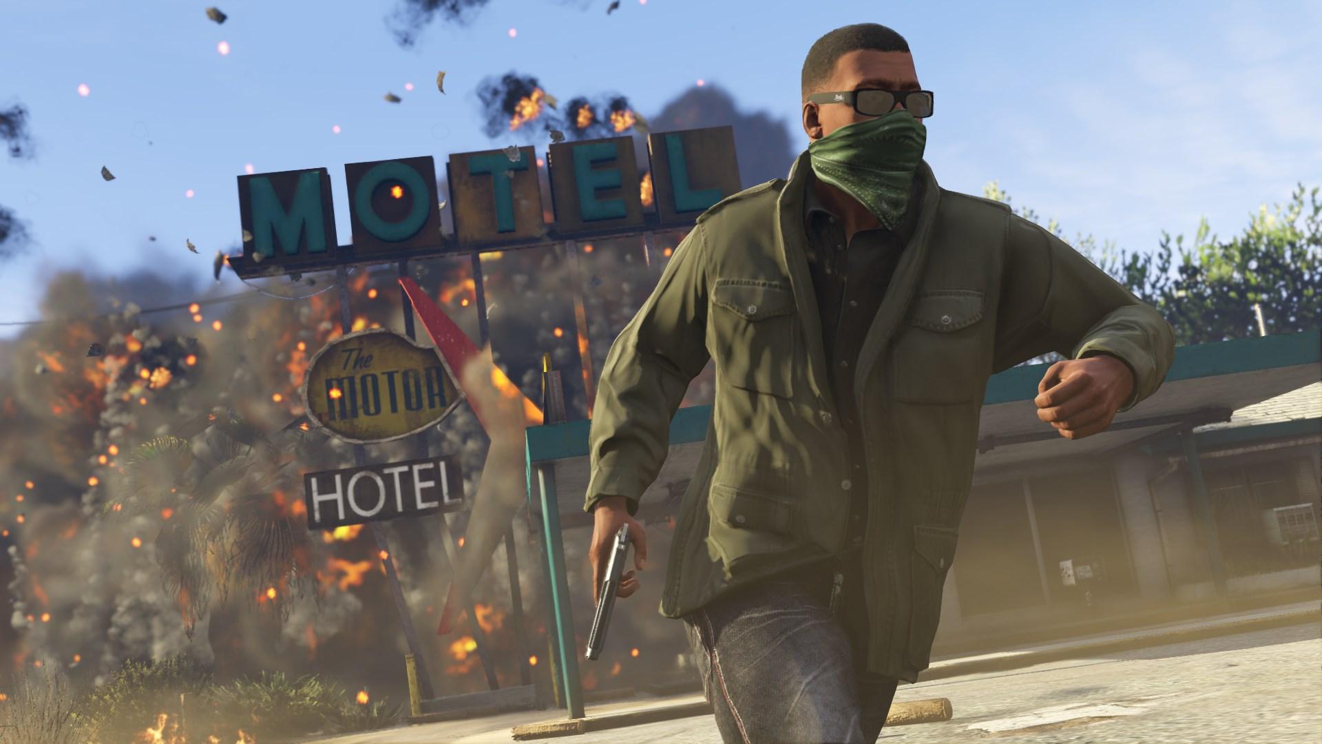Скриншот №12 к Grand Theft Auto V Premium Edition