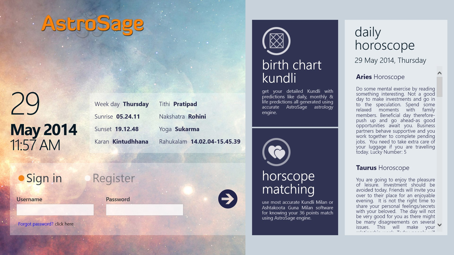 Kundli match making software download gratuito per Windows 7 64 bit