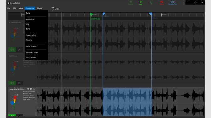 Get Sound Editor - Microsoft Store