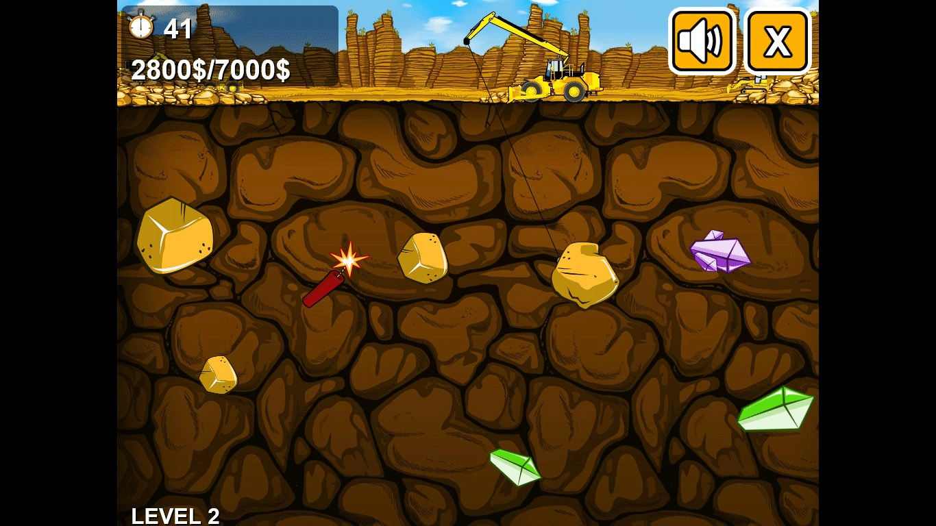 gold mining games - HD1024×768