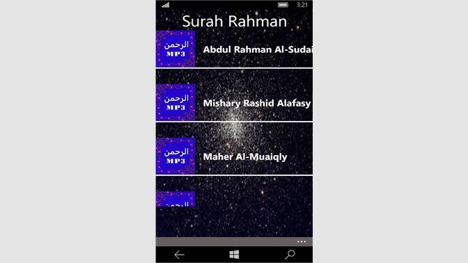 Get Surah Rahman Mp3 - Microsoft Store en-GB