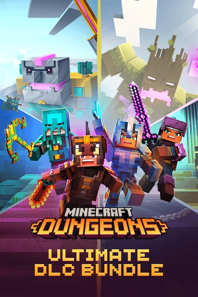 Minecraft Dungeons Ultimate DLC Bundle - Windows 10