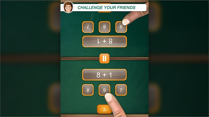 Get Cool Math Duel: 2 Player Game for Kids and Adults