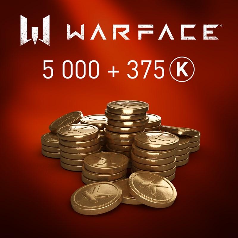 Warface - 5000 Kredits