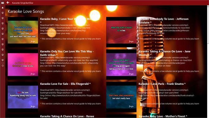Get Karaoke SingLikeAStar - Microsoft Store