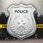 Official Police Scanner Radio Logo