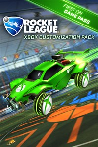 pack de personalización exclusivo de Xbox para Rocket League disponible gratis