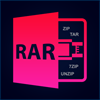 Open Rar Zip 7Zip Tar Unrar Unzip : Archives Extraction of All Files