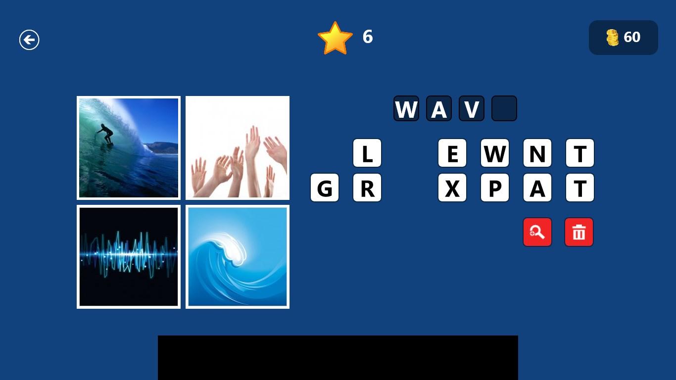4 Pics One Word