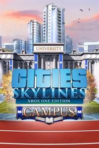 Carátula del juego Cities: Skylines - Campus