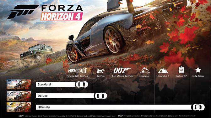 forza horizon 4 edition deluxe