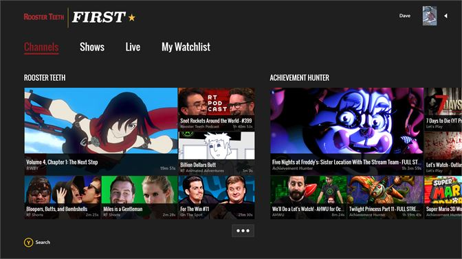 Get Rooster Teeth FIRST - Microsoft Store