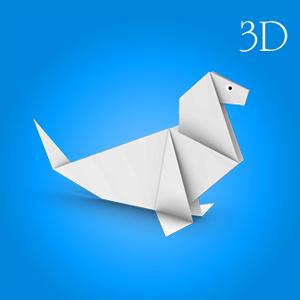 Origami Paper 3D