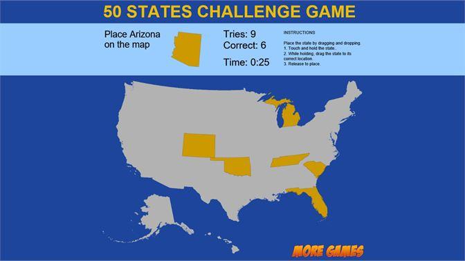 USA MAP QUIZ game beziehen – Microsoft Store de-DE