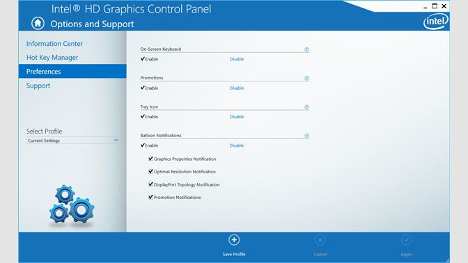 Get Intel® Graphics Control Panel - Microsoft Store