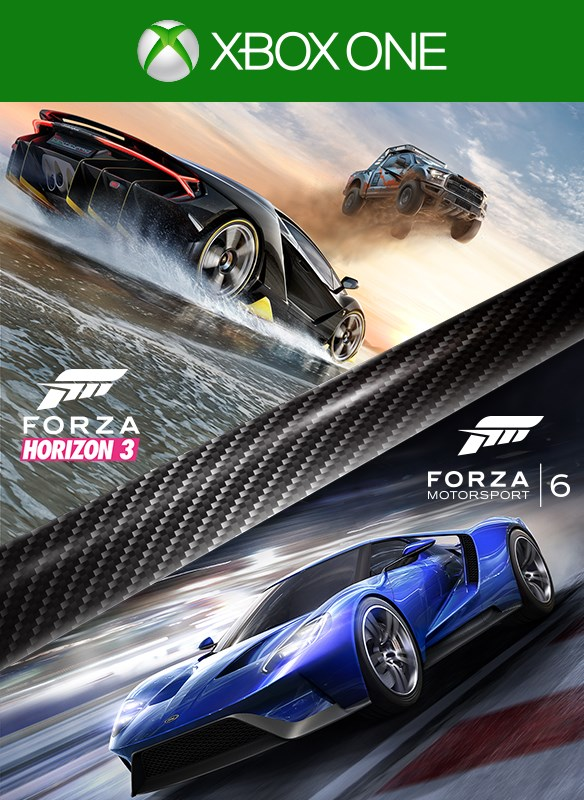 Forza Horizon 3 and Forza Motorsport 6 Bundle