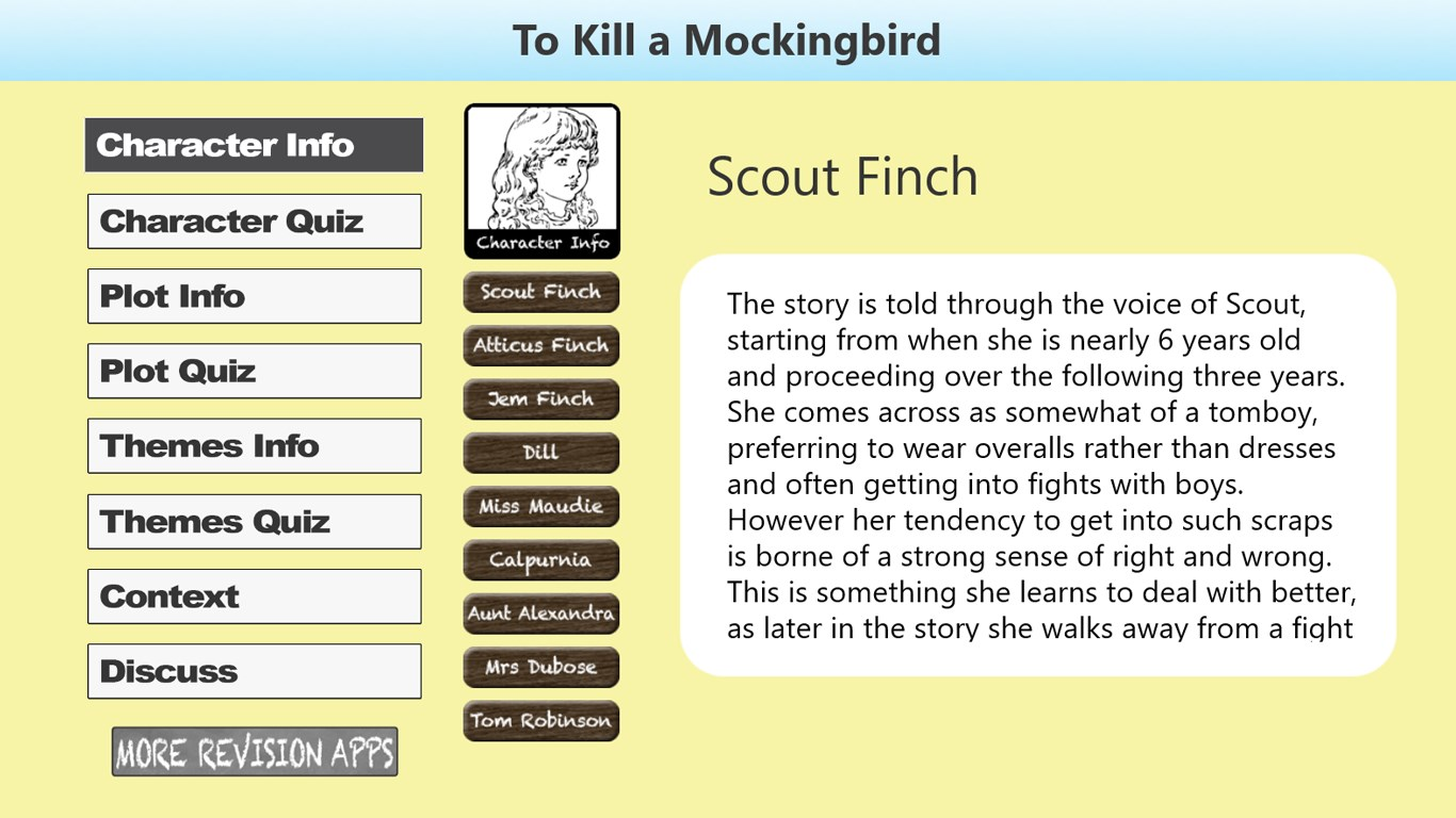 scout finch character analysis - HD1366×768