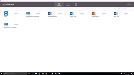 Citrix Receiver Screenshots 2
