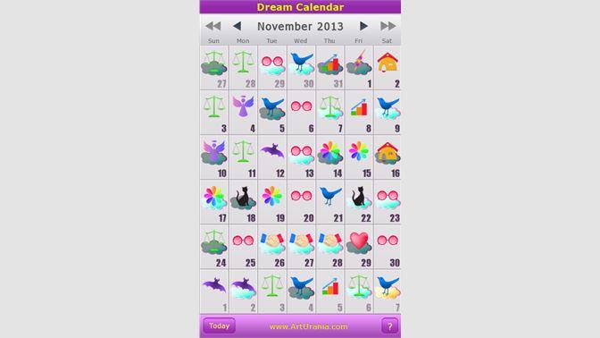 Get Dream Calendar - Microsoft Store