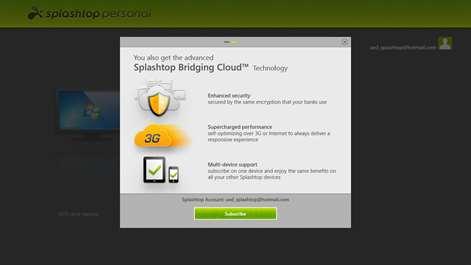Splashtop Personal - Remote Desktop Screenshots 1