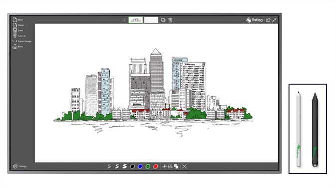 FlatFrog Whiteboard for Windows 10 free download on 10 App ...