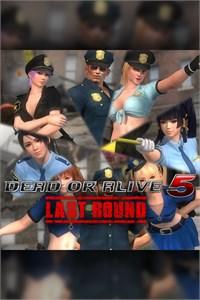 DEAD OR ALIVE 5 Last Round Police Uniform Set