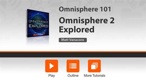 Course For Omnisphere 2 101. Screenshots 1