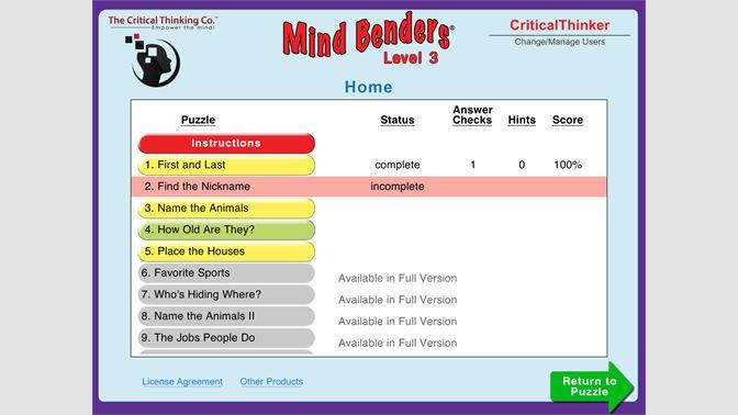 Get Mind Benders® Level 3 (Free) - Microsoft Store