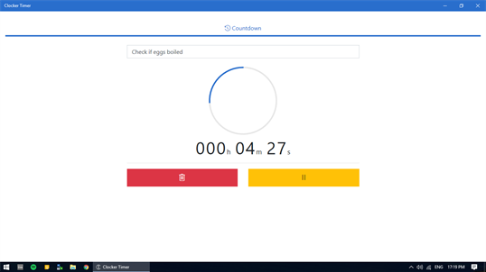 Clocker Timer screenshot 2