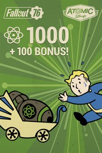Fallout 76: 1.000 (+100 als Bonus) Atome