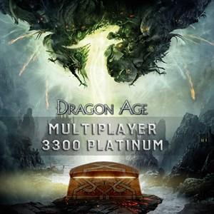Mode multijoueur de Dragon Age™ - 3 300 platine Xbox One