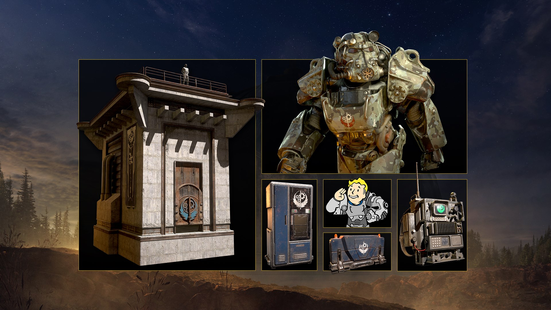 Fallout 76: Brotherhood Recruitment Bundle