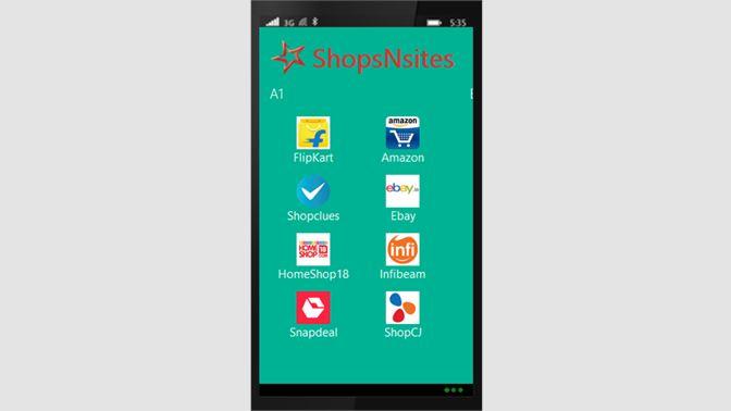 212dd09dd Get ShopsNsites - India - Microsoft Store