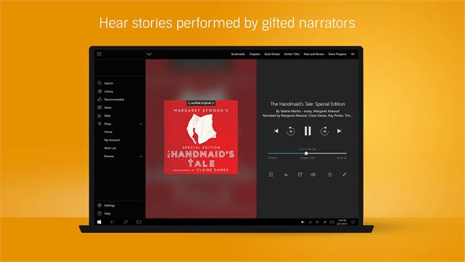 Get Audiobooks from Audible - Microsoft Store en-GB