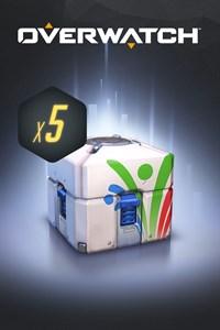 Carátula para el juego Overwatch - 5 Summer Games Loot Boxes de Xbox 360