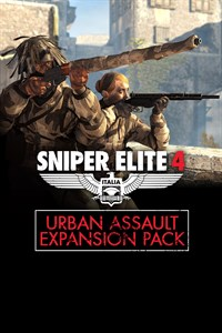 Carátula del juego Sniper Elite 4 - Urban Assault Expansion Pack