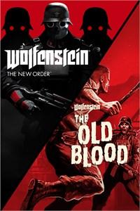 Carátula para el juego Wolfenstein: The Two-Pack de Xbox 360