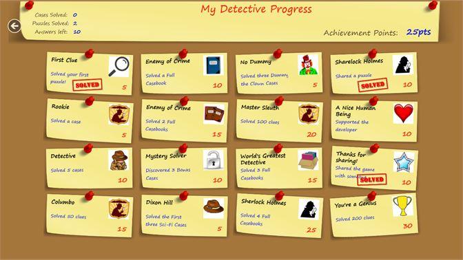 Get Puzzle Detective - Microsoft Store
