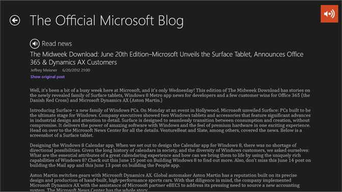Get News Voice Reader - Microsoft Store